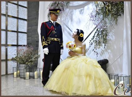 黄色いドレスのコピー