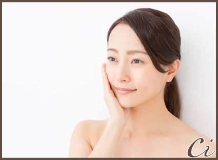 young asian woman beauty image isolated on white background